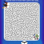 Puzzle Project   Printable Halloween Puzzles