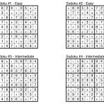 Puzzle Solutions: Issue 1: Aug. 23, 2013 – The Observer – Printable Puzzles And Solutions