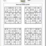 Puzzle Sudoku Printable | Shop Fresh   Printable Puzzle Sudoku