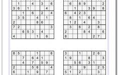 Puzzle Sudoku Printable   Shop Fresh   Printable Puzzle Sudoku