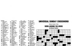 Puzzles And Games From Universal Press Syndicate   Pdf   Printable Crossword Puzzles Edited By Timothy Parker