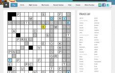 Puzzles   Puzzle Baron   Printable Clueless Crossword Puzzles