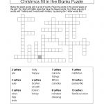 Puzzles To Print. Downloadable Christmas Puzzle. | Christmas Puzzles   Printable Science Puzzle