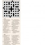 Quick Crossword #30 | New Scientist   Free Printable Quick Crossword Puzzles