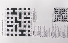 Quickcrossword Hashtag On Twitter   Guardian Quick Crossword Printable Version