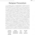 Relapse Prevention Word Search   Wordmint   Printable Recovery Puzzles