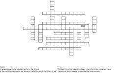 Respiratory System Crossword Puzzle Crossword   Wordmint   Respiratory System Crossword Puzzle Printable