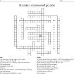 Russian Crossword Puzzle Crossword   Wordmint   Printable Russian Crossword Puzzles