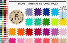 Sale 100 Puzzle Clipart Rainbow Puzzle Printable Sticker Board   Etsy   Printable Rainbow Puzzle