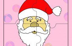 Santa Claus 2   Jigzaw Puzzles For Kids | Printables For Kids   Printable Jigsaw Puzzle For Toddlers