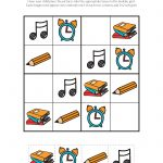 School Sudoku Puzzles {Free Printables}   Gift Of Curiosity   Printable Puzzle For Kindergarten