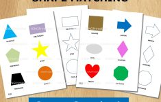 Shape Puzzle Toddler Learning Printable File Folder Games | Etsy   Printable Logo Puzzle