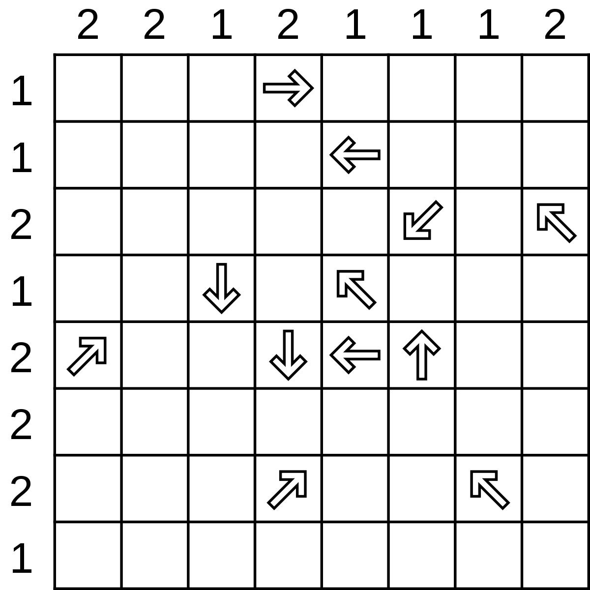 Shinro - Wikipedia - Printable Minesweeper Puzzles