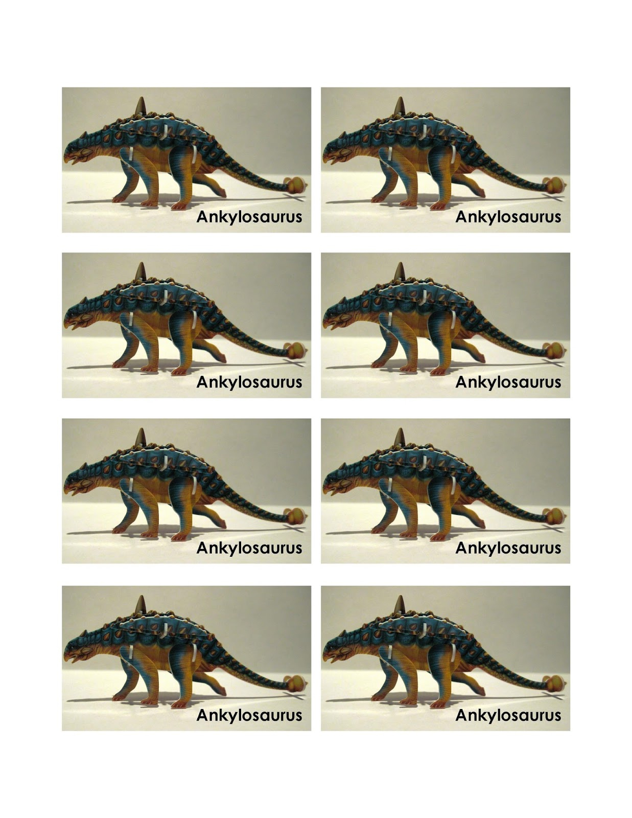 Simply Shoeboxes: Printable Instructions For Building 3D Dinosaur - Printable 3D Puzzle
