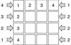 Skyscrapers – Wonder In Mathematics   Printable Skyscraper Puzzles