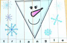 Snowman Shapes For Kids Printable Puzzles   Jdaniel4S Mom   Printable Snowman Puzzle