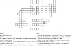 Social Media Crossword   Wordmint   Printable Crossword Puzzle Tagalog