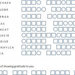 Social Media Word Jumble Puzzle   Printable Daily Jumble Puzzle