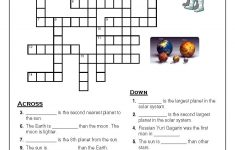 Solar System Crosword | Solar System | Solar System Worksheets   Solar System Crossword Puzzle Printable