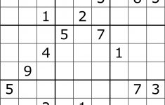 Solving Sudoku Using A Simple Search Algorithm – George Seif – Medium   Printable Sudoku Puzzles 9X9