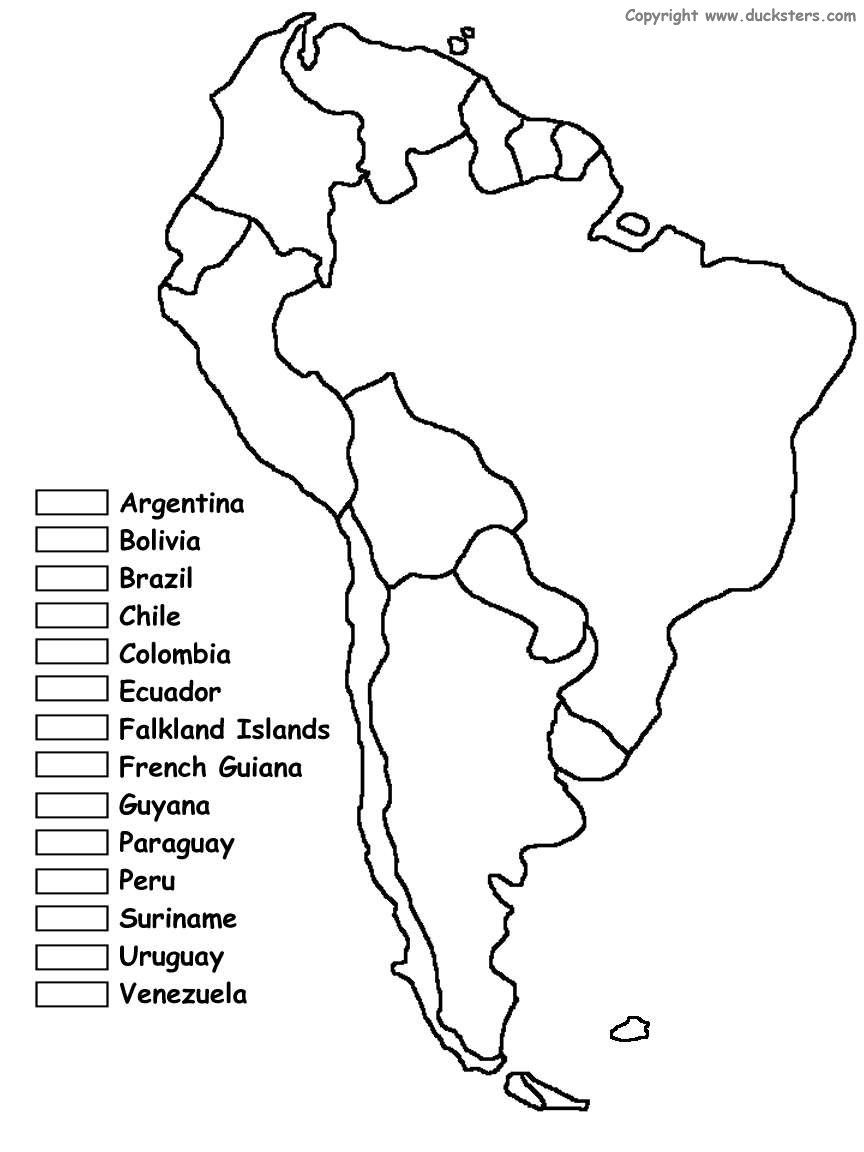 South America Unit W/ Free Printables | Homeschooling | Spanish - Printable Puzzle South America