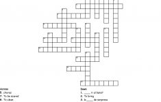 Spanish Crossword Puzzle Crossword   Wordmint   Printable Spanish Crossword Puzzle Answers