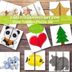 Spring Easter | Mdo 2 | Puzzles For Toddlers, Kids Education   Printable 2 Piece Puzzles
