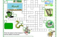 St Patrick's Day Crossword Worksheet   Free Esl Printable Worksheets   Free Printable St Patrick's Day Crossword Puzzles