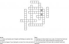 Stress Relief Crossword   Wordmint   Printable Stress Management Crossword Puzzle