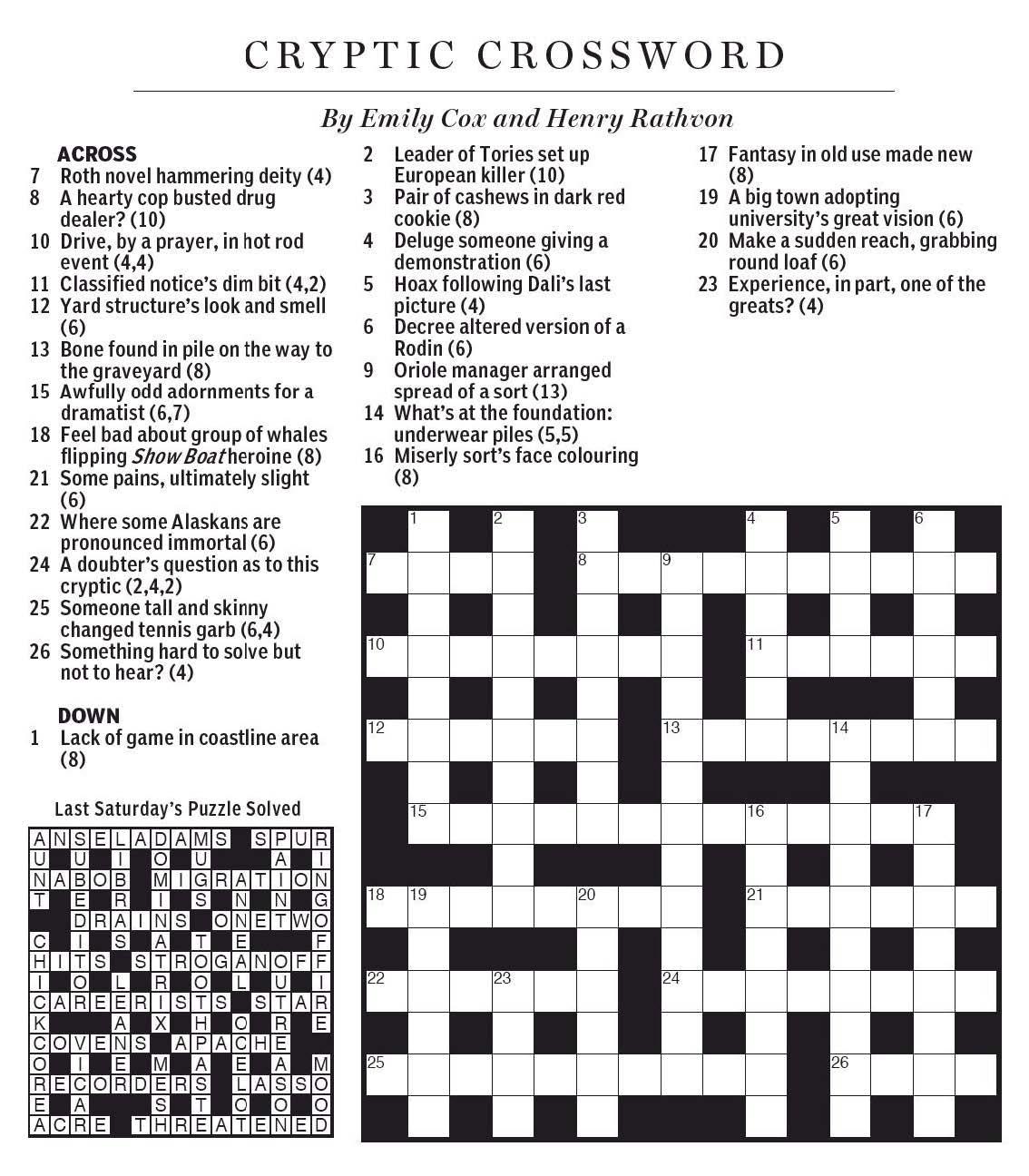 Style Of Dance Crossword Clue - Eugene Sheffer Crossword Puzzle Printable
