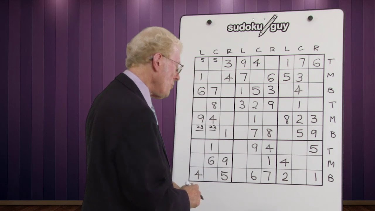 Sudoku 04 En Page - Printable Dropdown Puzzles