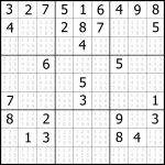 Sudoku Printable | Free, Medium, Printable Sudoku Puzzle #1 | My – Printable Sudoku Puzzle Grids