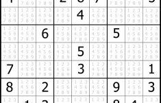 Sudoku Printable | Free, Medium, Printable Sudoku Puzzle #1 | My   Printable Sudoku Puzzles Uk