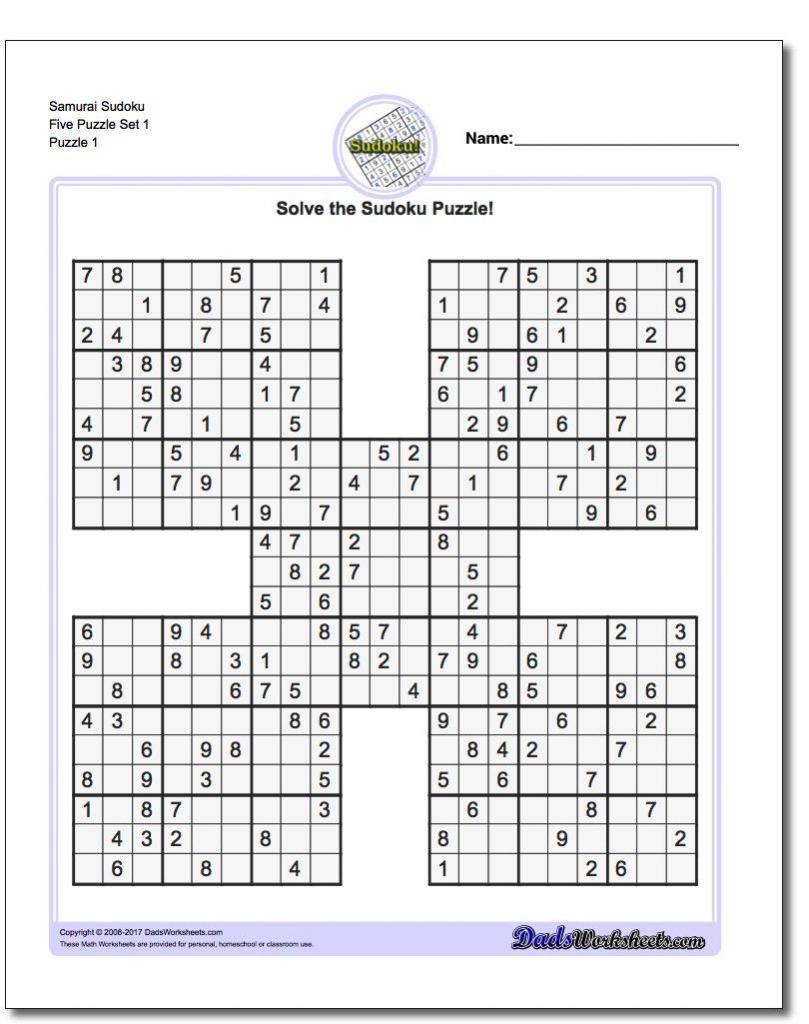 Sudoku Printable Medium 4 Per Page | Printable Sudoku Free - Printable Sudoku Puzzles 4 Per Page