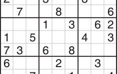 Sudoku Printables Easy For Beginners | Printable Sudoku | Things To   Printable Sudoku Puzzle With Answer Key