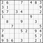 Sudoku Puzzler | Free, Printable, Updated Sudoku Puzzles With A   Printable Puzzle Sudoku