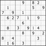 Sudoku Puzzler | Free, Printable, Updated Sudoku Puzzles With A   Printable Sudoku Puzzle Easy