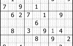 Sudoku Puzzler   Free, Printable, Updated Sudoku Puzzles With A   Printable Sudoku Puzzle Easy
