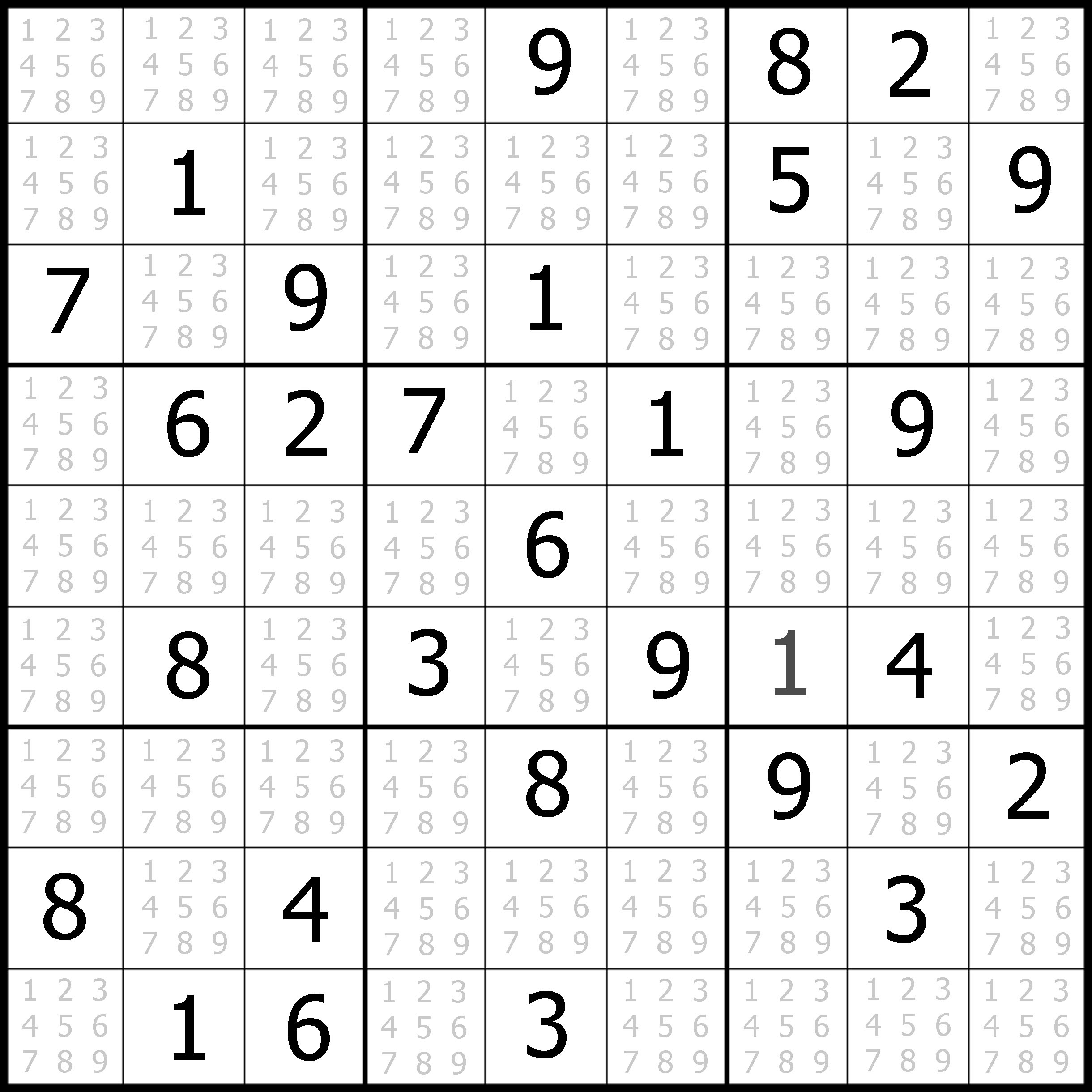 Sudoku Puzzler | Free, Printable, Updated Sudoku Puzzles With A - Printable Sudoku Puzzle Easy