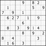 Sudoku Puzzler | Free, Printable, Updated Sudoku Puzzles With A   Printable Sudoku Puzzle Medium
