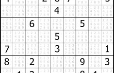 Sudoku Puzzler   Free, Printable, Updated Sudoku Puzzles With A   Printable Sudoku Puzzles Easy #6