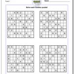 Sudoku Puzzles Printable | Ellipsis   Printable Crossword Sudoku Puzzles