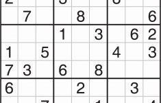 Sudoku Puzzles To Print Free Download Sudoku Printables Easy For   Printable Sudoku Puzzles Hard