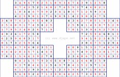 Sudoku Puzzles With Solutions Pdf | Super Sudoku Printable Download – Printable Puzzles For Adults Pdf