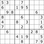 Sudoku   Wikipedia   5 Star Sudoku Puzzles Printable
