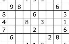 Sudoku   Wikipedia   Printable Sudoku Puzzle With Answer Key
