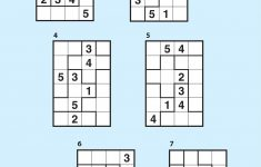 Suguru Magazine Subscription | Magshop   Printable Suguru Puzzles