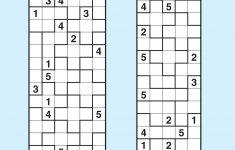 Suguru Magazine Subscription   Magshop   Printable Suguru Puzzles