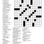 Summer Crossword Puzzle Worksheet   Free Esl Printable Worksheets   Free Printable Crossword Puzzles For Middle School