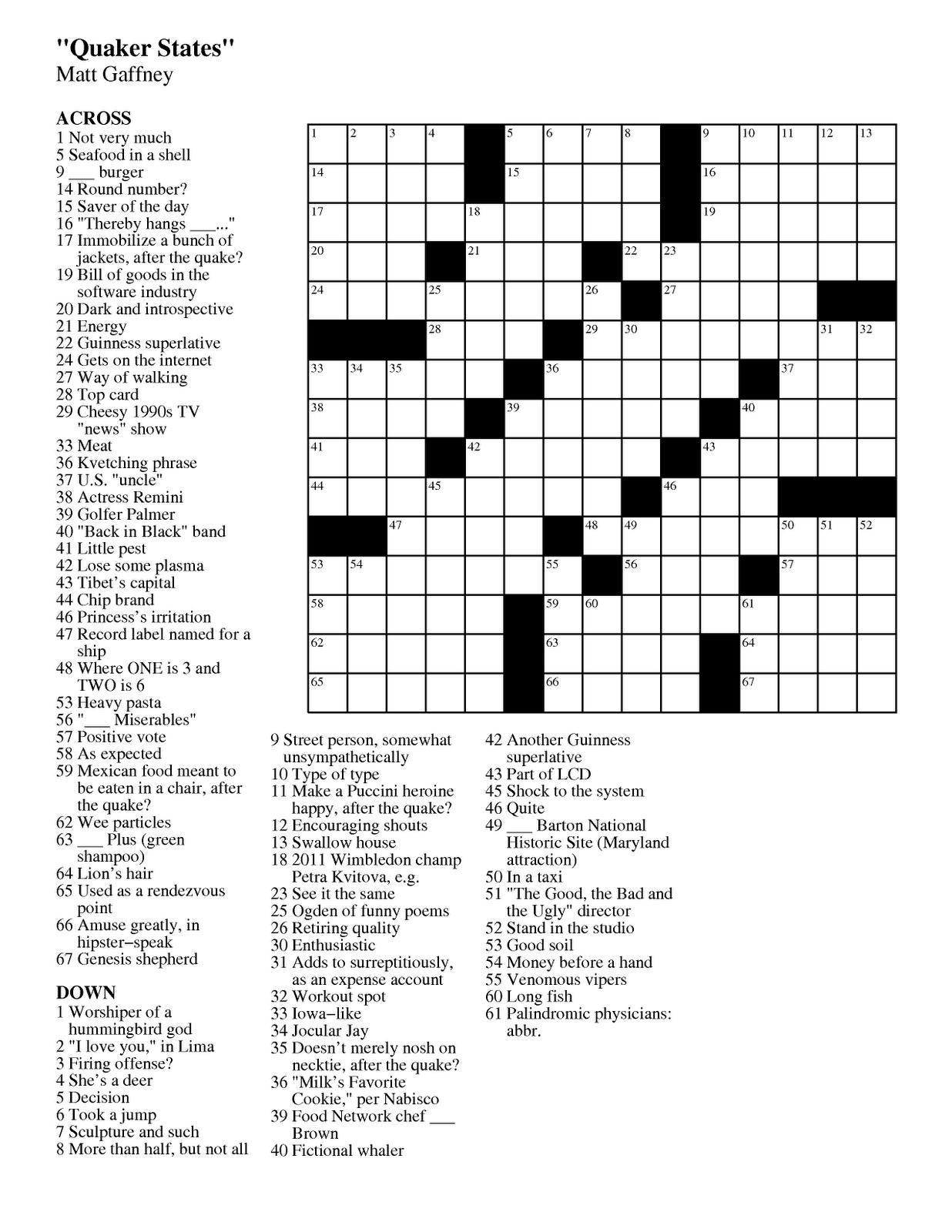 Summer Crossword Puzzle Worksheet - Free Esl Printable Worksheets - High School Crossword Puzzles Printable
